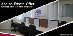 Can't decide where to find furnished office on rent in Ahmedabad within budget? Contact Ashish Estate at or call us on: +91 9099 680 902  #FurnishedOfficeOnRent