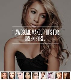 8. Red-Based Shadows - 11 Awesome Makeup Tips for Green Eyes ... → Makeup