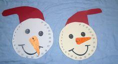5ο ΝΗΠΙΑΓΩΓΕΙΟ ΚΑΛΑΜΑΤΑΣ-ΑΤΟΜΙΚΟ ΑΝΤΙΣΤΡΟΦΟ ΗΜΕΡΟΛΟΓΙΟ ΓΙΑ ΤΑ ΧΡΙΣΤΟΥΓΕΝΝΑ Christmas Time, Christmas Crafts, Kindergarten, Craft Ideas, Symbols, School, Blog, Manualidades, Kid