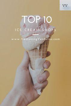 Best Ice Cream Shops in the US - Venturing Venturas
