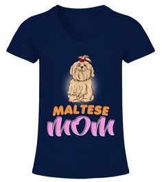 Cute Maltese Dog With Bow Mom maltese shirt,maltese cross shirt,maltese cross t shirt,maltese cross fire shirt,