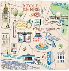 @Amanda Cortez for when we go to Brighton with Tilly. Map of her home town. =)