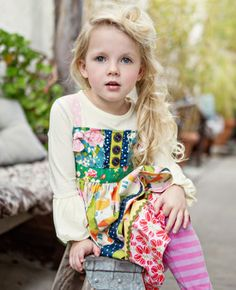 Matilda Jane Clothing - want this top for Ava!