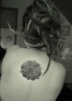 Back Mandala Tattoo