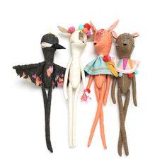 Abigail Brown -Image of Deer girl - THE WIERDLETS