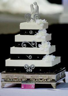 Square Wedding Cakes - *