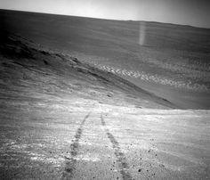 Foto de Marte , tomada por el Oportunity que hay en marte.