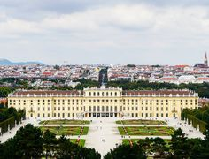 A view of Vienna from the top of the hill of the grounds at Schonbrunn Palace.  #vienna #schonnbrunnpalacegarden #wien #travel #igtravel #instatravel #traveling #Austria