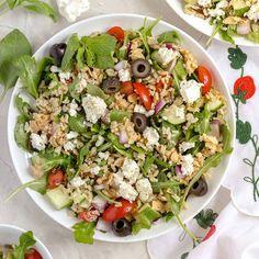 Classic Tuna Salad | Chicken of the Sea Clean Eating Salads, Healthy Eating, Salmon Recipes, Seafood Recipes, Cilantro, Lemon Pepper Salmon, Yogurt, Feta Chicken, Paleo