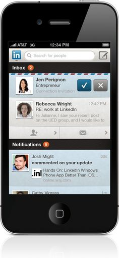 LinkedIn revamps app for smartphones and iPad