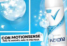 Con Motionsense mas te mueves clic. Conoce la tecnología Motionsense que responde directamente a tus movimientos.... http://www.hazmasconrexona.com/web/colombia/blog/desodorante