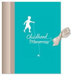 Childhood Memories (boy)  With A4 pockets and prompts to record special memories and events, this book is great for nursery and school years!  £14.99