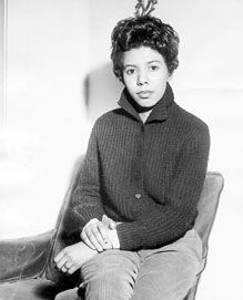 """Lorraine Hansberry (1930 - 1965) playwright. """"A woman who is willing to be herself and pursue her own potential runs not so much the risk of loneliness as the challenge of exposure to more interesting men — and people in general."""""""