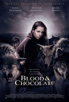 Blood and Chocolate Movie Poster - Internet Movie Poster Awards Gallery ~ love and werewolves in Romania. Nicely done, excellent historical scenery. still wanting to see this 1 !