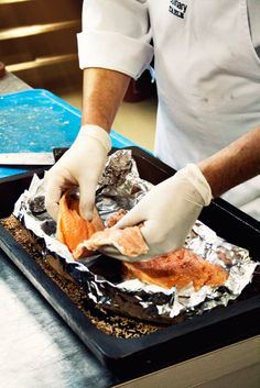 Chef Toerie preparing the trout for smoking! Smoked Trout, Smoking, Ethnic Recipes, Food, Kitchens, Eten, Tobacco Smoking, Smoke, Meals