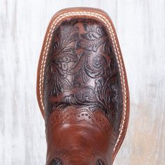 Boulet Ladies' Tooled Boots