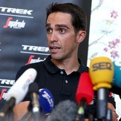 Press conference of Trek-Segafredo for the Tour de France in Duesseldorf, Germany