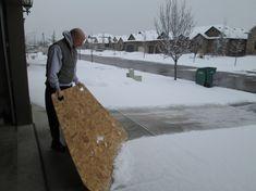 Contractor Kurt or the Human Snow Plow? | Contractor Kurt