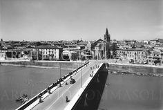 FILIPPO E FAUSTO TOMMASOLI  - Verona, Ponte Navi 1960
