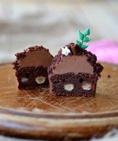 Amazing! Ninas kleiner Food-Blog: Süßkartoffel-Schoko-Cupcakes mit Schoko-Frischkäse-Frosting
