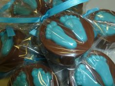 2 Dozen Baby Feet Chocolate Covered Oreo Cookies by CANDYCRAFTS, $24.00
