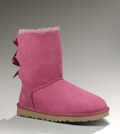 UGG Bailey Bow 1002954 Dark Dusty Rose Boots Kids Ugg Boots, Ugg Winter Boots, Snow Boots, Only Fashion, Fashion Days, Womens Fashion, Style Fashion, Uggs For Cheap, Ugg Boots Cheap