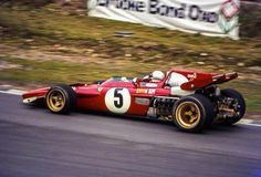 Clay Regazzoni, Ferrari 312B2, Brands Hatch Race of Champions 1971 (unattributed)...