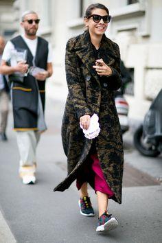 Attendees at Milan Fashion Week Spring 2016 - Street Fashion