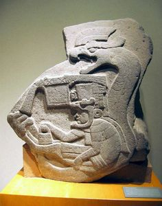Olmec (circa BCE) Monument from La Venta, Tabasco. The earliest known representation of a feathered serpent in Mesoamerica. The early Olmec feathered serpent, as shown here, is thought to have acted as a forerunner for many Mesoamerican.