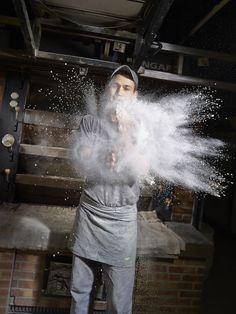 'S'enfariner - Philippe Turquet, Maison Landemaine, 2013', Eric DosSantos & Antonin Lemone www.dossantoslemone.com