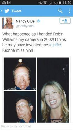 Selfie #RobinWilliams