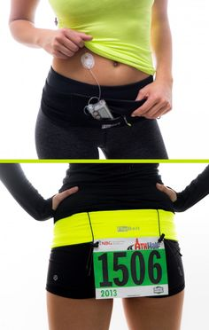 FlipBelt - Perfect for diabetic pumps!