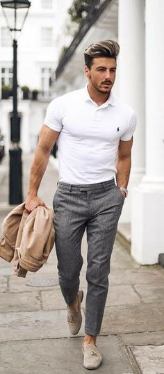 Summer Fashion Business casual men Men's Fashion - New Site - Summer Business Casual Outfits, Business Casual Men, Business Outfits, Business Fashion, Stylish Outfits, Summer Outfits, Winter Outfits, Party Outfits, Mens Business Casual Style