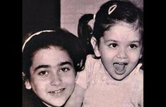 Kareena Kapoor childhood photos, Bollywood Celebs, Childhood Stars, Unseen childhood pictures, Rare Pics Of Bollywood Celebrities