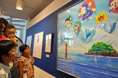 Fujiko Fujio A's hometown has reopened the Himi Shiokaze Gallery of his work after a major revamp (photo Nobuhiro Hatta)