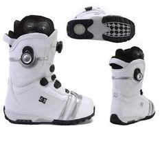 DC Mora Boa Pump Snowboard Boots Snow White Womens 5 or Girls 4 4 5 CX122 $320   eBay
