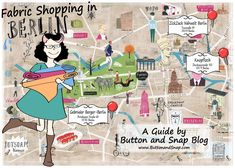 Fabric Shopping Map