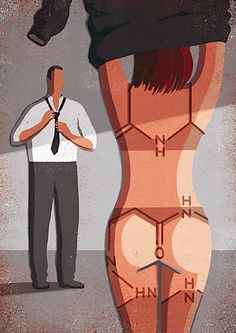 Las 32 provocadoras ilustraciones de Davide Bonazzi