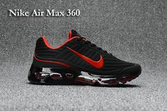 Welcome to our online store to buy Men's UK Nike Air Max 360 KPU TPU Shoes Black/Red Trainers UK Sale . Our shop is the right place for you to choose Nike Air Max Best service,fast delivery and high quality. Nike Max, Cheap Nike Air Max, Nike Air Max For Women, Nike Women, Nike Shoes Online, Nike Shoes For Sale, Running Shoes For Men, Nike Running, Air Max 360