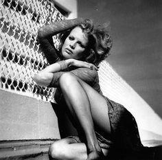 Kim Basinger by Helmut Newton