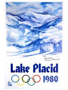 Lake Placid, NY.  I went ot the 1980 winter olympics.