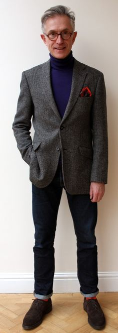 Grey Fox: One jacket - five styles. Making full use of your wardrobe with Sarah Gilfillan and an M&S tweed jacket