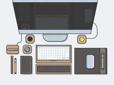 Dribbble - Grovemade Desktop by Kemal Sanli