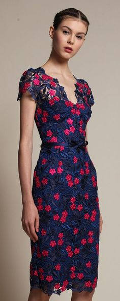 "Carolina Herrera designs are always feminine and on my ""Want It"" list... ~~ Houston Foodlovers Book Club"
