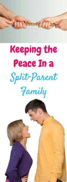 When you're trying to co-parent with your ex, things can get nasty, fast! But it's so important to keep the peace in a split-parent family for your kids' sake. This post is full of tips to help coparent even when you don't want to!