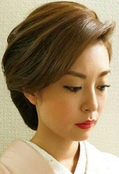 Bride Hairstyles, Easy Hairstyles, Hair Up Styles, Mehndi Dress, Japanese Wedding, Hair Arrange, Japanese Hairstyle, Best Portraits, Braids