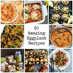 30 eggplant recipes that highlight the versatility of this amazing ingredient. This recipe roundup just might make eggplant your new favorite food!