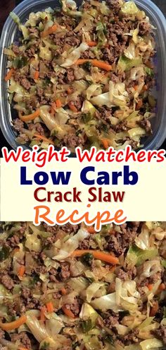 Low Carb Crack Slaw Recipe Trying to keep the carbs down is hard especially on the go The easiest way to make sure of your crab count is to just make the food yourself Th. Slaw Recipes, Beef Recipes, Healthy Recipes, Recipies, Snacks Recipes, Waffle Recipes, Burger Recipes, Candy Recipes, Quick Recipes