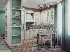 cucina shabby chic in stile provenzale - romantico n.28 | cucine ... - Shabby Cucina