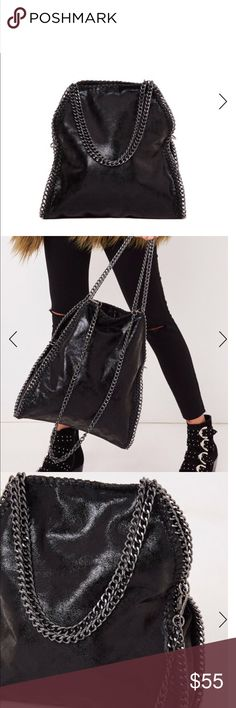 Black handbag Black handbag Zara Bags